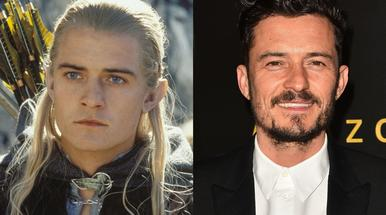 Lord of the Rings actors then and now