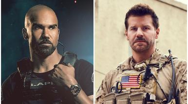 Shemar Moore versus David Boreanaz - battle of the hunks