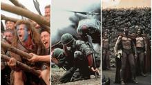 Epic battle scenes on the big screen